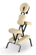 eaa693c2fde9e Masážní stolička (židle) RELAXA - barva smetanová